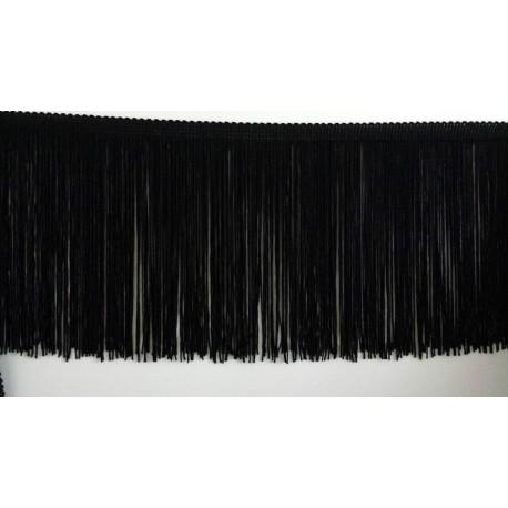 Frange noire 15 cm