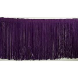 Frange violet 15 cm