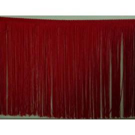 Frange rouge 25 cm