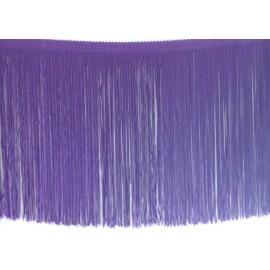 Frange violet 25 cm