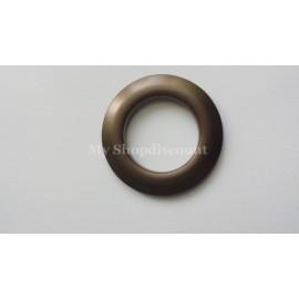 Oeillet clipsable bronze