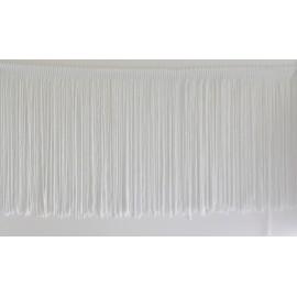 Frange blanche 25 cm