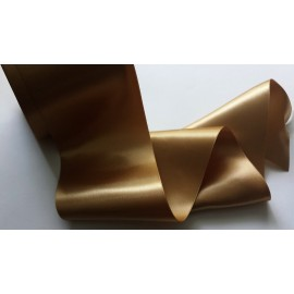 Ruban de satin bronze