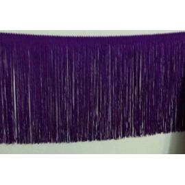 Frange violet 20 cm