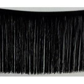 Frange noire 25 cm