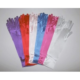 Gants long lycra satiné