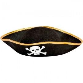 Chapeau Pirate Tête de Mort