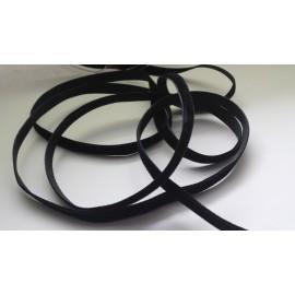 Ruban velours 9 mm noir
